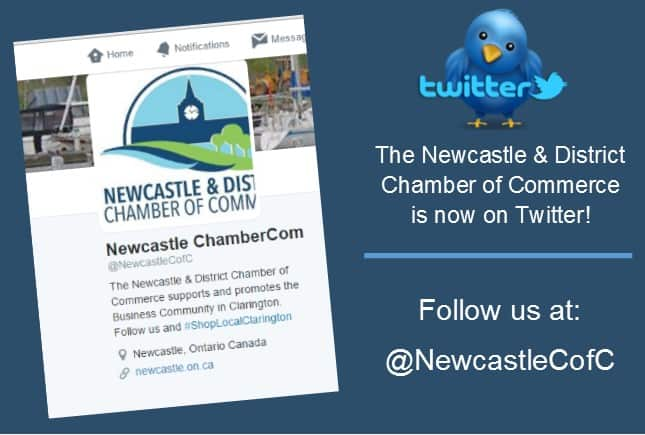 Newcastle Chamber is on twitter!