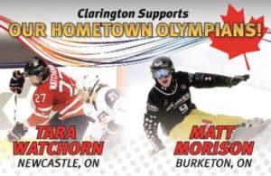 Hometown Olympians!