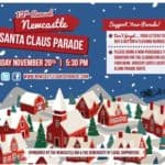 Newcastle Santa Parade on Sunday November 20th at 5:30 pm!