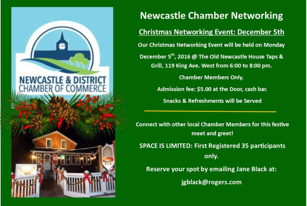 Chamber Christmas Network Meeting