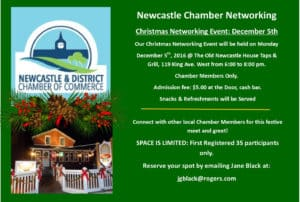 Newcastle Chamber Updates and Events Fall 2016