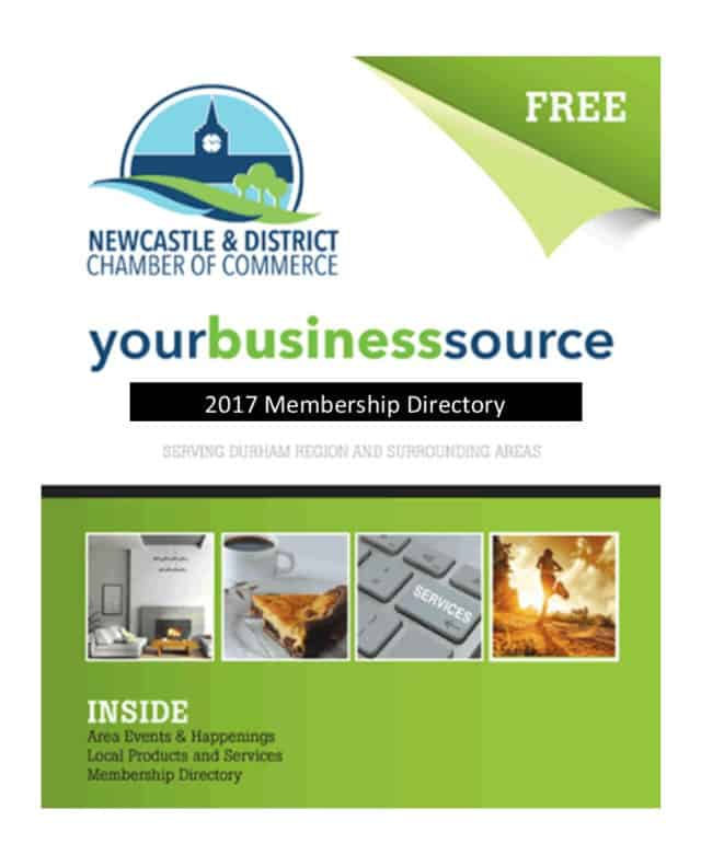 2017 NEWCASTLE CHAMBER OF COMMERCE MEMBERSHIP DIRECTORY