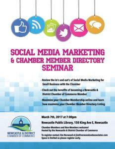 Social Media Marketing and Chamber Member Directory Seminar