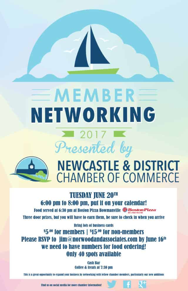 Summer Mingle Networking with Newcastle Chamber – June 20th