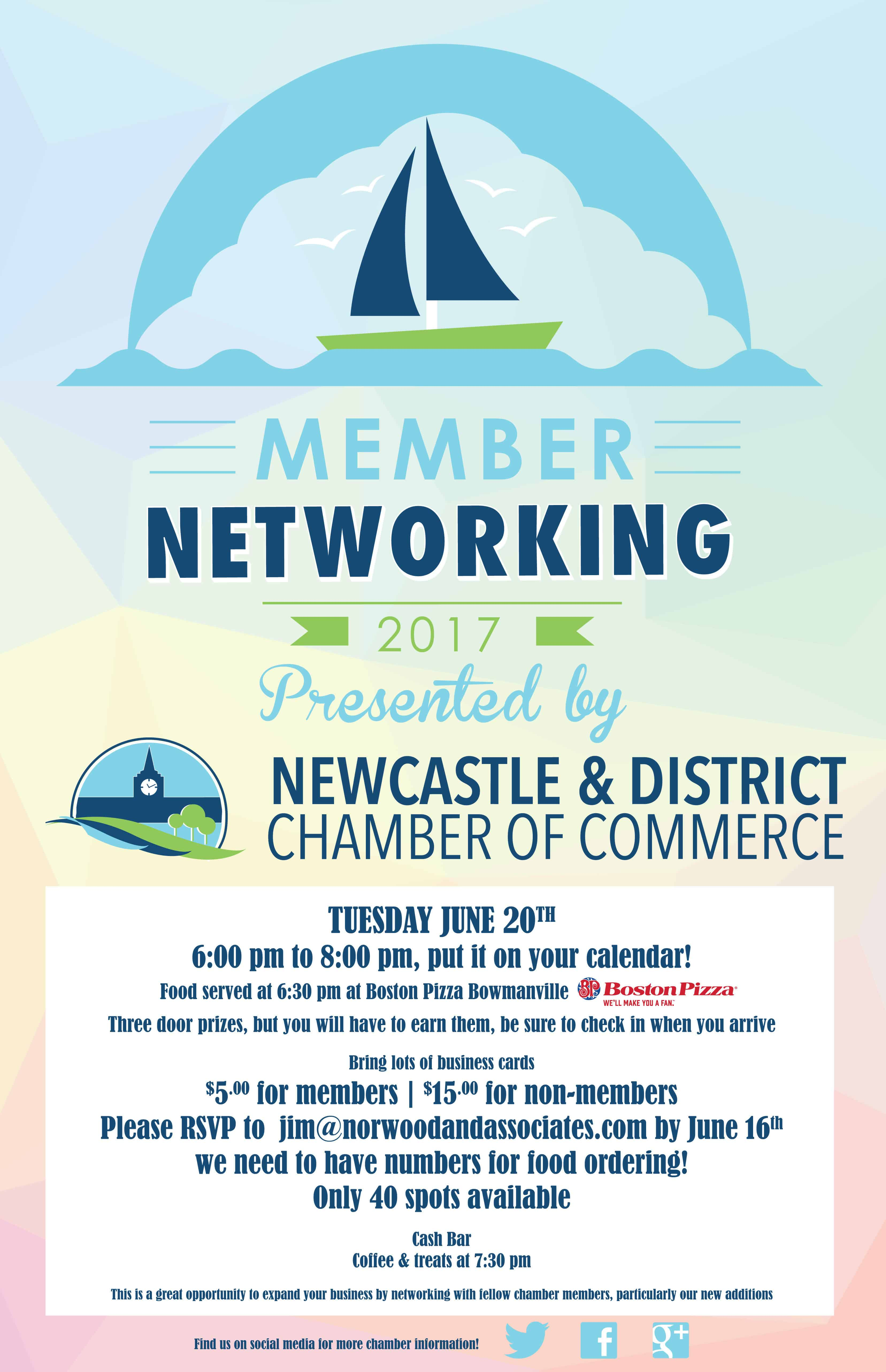 Summer Mingle Networking with Newcastle Chamber - June 20th ...