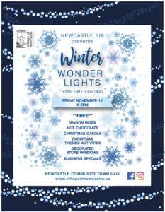 Winter Wonder Lights – Town Hall Lighting