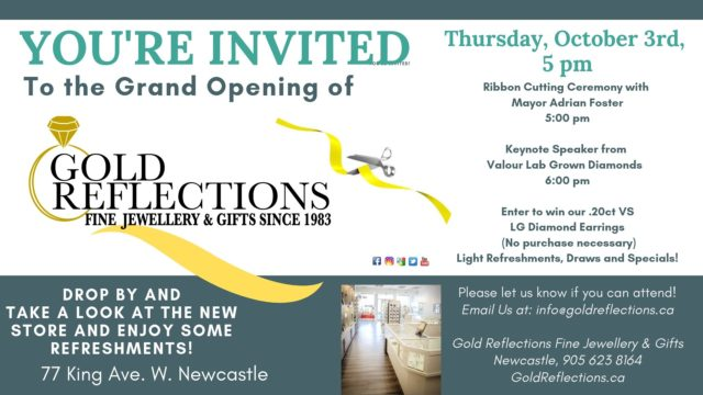 Grand Opening – Gold Reflections
